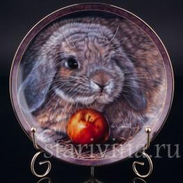 Три декоративные тарелки Рассказы о кроликах, Bradford, Великобритания, 1997 г