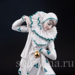 Фарфорвая девушки статуэтка Пьеретта, Rosenthal, Германия, 1920-30 гг.