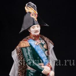Фарфоровая статуэтка Русский генерал П. Х. Витгенштейн, Россия, совр.